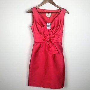 Kate Spade Silk Coral Pink Sleeveless Dress NWT